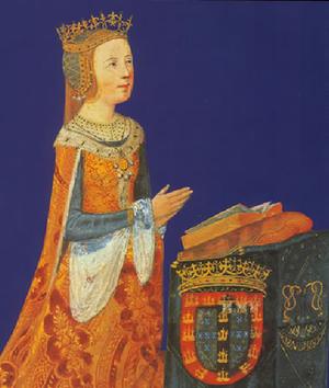 Eleanor of Viseu - Image: Rainha D. Leonor, esposa de D. João II Livro de Horas, século XVI