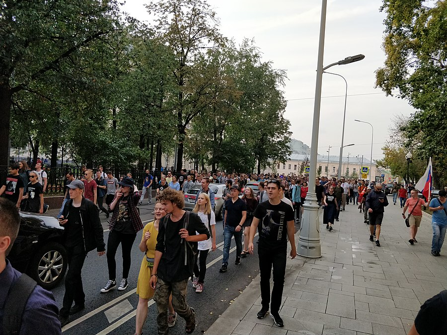 Rally against raising the retirement age (2018-09-09; Moscow) 37.jpg