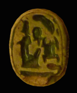 Ramesses X - Scarab-seal of Ramesses X in Bologna