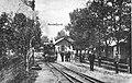 Randsfjord station - The terminus of the Drammen-Randsfjordbanen ca 1870.jpg
