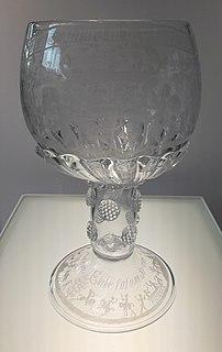 George Ravenscroft British glassmaker