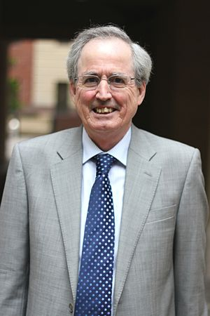 Raymond Flood (mathematician) - Raymond Flood at Gresham College, 2012