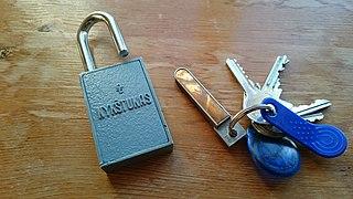 Magnetic keyed lock