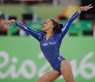 Rebeca Andrade Brazilian artistic gymnast