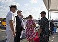 Reception with Ambassador Pyatt Aboard USS ROSS, July 24, 2016 (27966417654).jpg