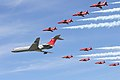 Red Arrows & VC10 - RIAT 2006 (2391871653).jpg