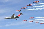 Red Arrows & VC10 - RIAT 2006 (2391871653).jpg