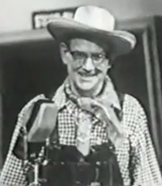"Red Ingle - Red Ingle performing his 1947 hit, ""Tim-Tay-Shun"" in 1960 on Startime."
