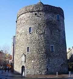Reginald's Tower. Waterford. Scene of a massacre in August 1170