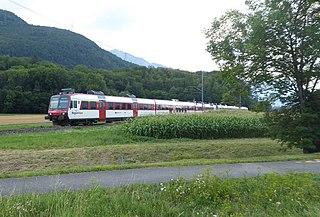 Saint-Gingolph–Saint-Maurice railway