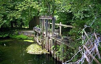 Itchen Navigation - Remains of Brambridge Lock