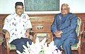 Renowned music director, Shri Bhupen Hazarika meets the Prime Minister Shri Atal Bihari Vajpayee in New Delhi on February 27, 2004.jpg