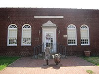 Rhymes Memorial Library, Rayville, LA IMG 0167