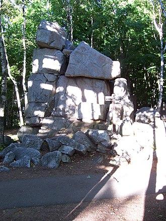 Rib Mountain State Park - Image: Rib Mountain Highest Point