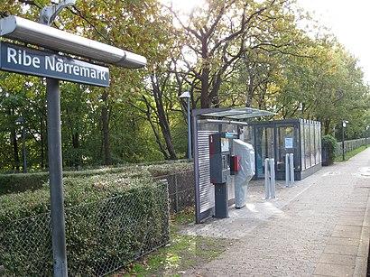 Sådan kommer du til Ribe Nørremark St. med offentlig transport – Om stedet