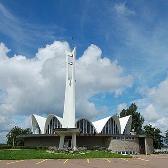 Richibucto - St. Louis de Gonzague Roman Catholic Church is a notable Richibucto landmark