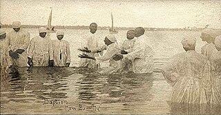 Immersion baptism Method of baptism
