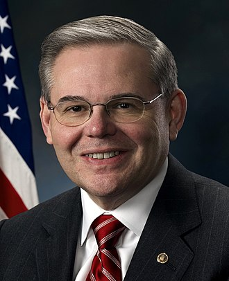 2012 United States Senate election in New Jersey - Image: Robert Menendez, official Senate photo (cropped)
