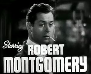 Robert Montgomery (actor) - Montgomery in the trailer for Night Must Fall (1937)