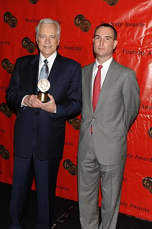 Turner Classic Movies - Robert Osborne and Charles Tabesh at the 68th Annual Peabody Awards for Turner Classic Movies