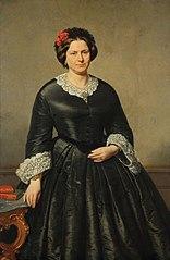 Portret van Johanna Wilhelmina van Enschot