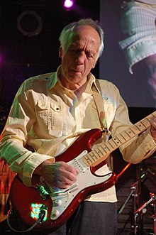 Trower onstage 19 October 2009