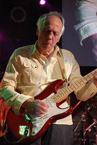 Robin Trower - Trower onstage 19 October 2009