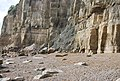 Rockfall at Fairlight Head - geograph.org.uk - 1054385.jpg
