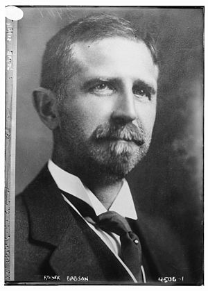 Roger Babson - Babson in 1918