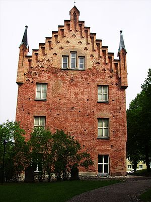 Gustav I of Sweden - Roggeborgen in Strängnäs was a central location during the events when Gustav Eriksson was elected king of Sweden.