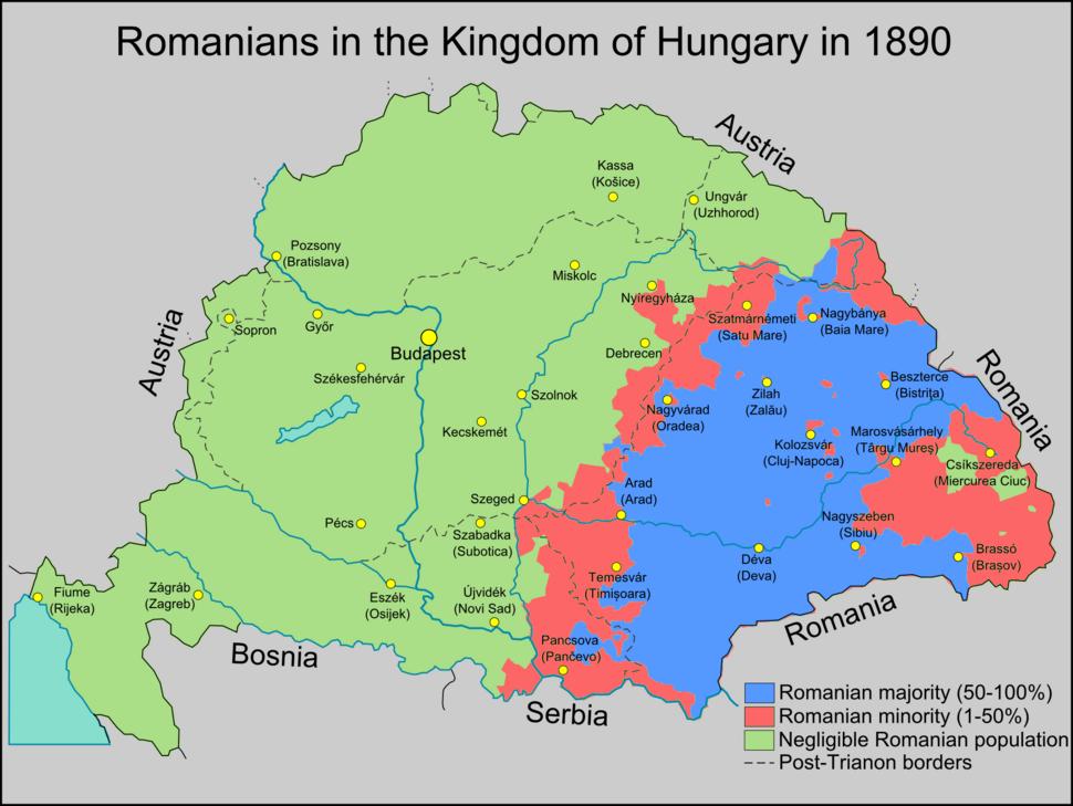 RomaniansInHungary1890