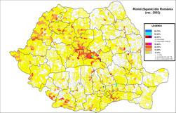 Romi (tigani) Romania 2002.png