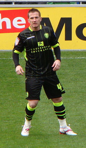 Ross McCormack - McCormack playing for Leeds United in 2012