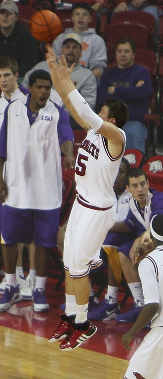 Rotnei Clarke - Clarke launches a shot against LSU February 18, 2009