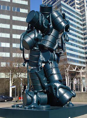 Joep van Lieshout - Sculpture Cascade, Rotterdam
