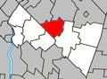 Rougemont Quebec location diagram.PNG