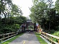 Route 1 underpass, South County Bike Path, South Kingstown, RI.JPG