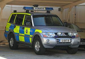 Royal Gibraltar Police - Image: Royal Gibraltar Police ARV