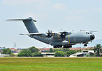 Royal Malaysian Air Force Airbus A400M Atlas at Subang Air Base.jpg