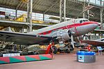 Royal Military Museum, Brussels - Douglas DC-3 (11448801995).jpg