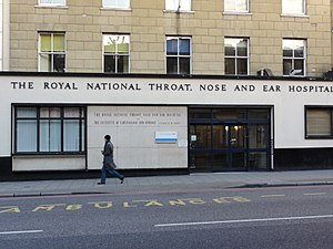 Royal National Throat, Nose and Ear Hospital - Image: Royal National Throat Nose and Ear Hospital