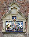Royal coat of arms, King's Manor, York (26726337092).jpg