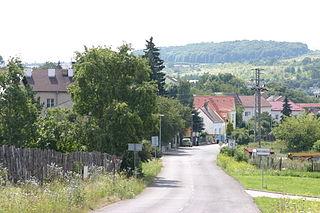 Village in Most District of Ústí nad Labem region