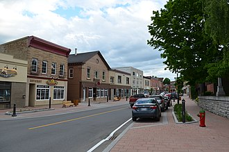 Coaticook - Image: Rue Child, Coaticook, QC