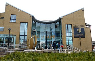 Rugby, Warwickshire - The Rugby Art Gallery, Museum and Library