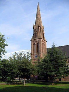 All Saints Church, Runcorn Church in Cheshire, England