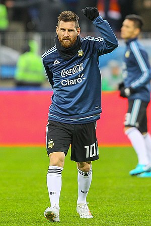 Lionel Messi - Messi with Argentina in November 2017