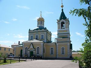 Ussuriysk - The city's main Intercession Church. Built in 1914, it is one of the few churches in the region to have survived the revolution and Communist periods