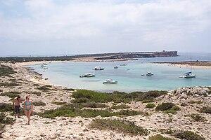 Formentera - Image: S'espalmador