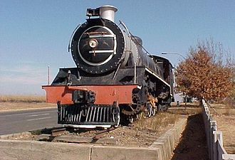 South African Class 19 4-8-2 - Image: SAR Class 19 1369 (4 8 2) L